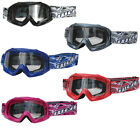 Wulfsport Cub Kids Childrens Youth Motocross MotoX MX Quad Goggles