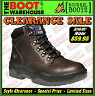 Mongrel 917030 Work Boots. Non Safety Footwear. Claret. Lace-Up.