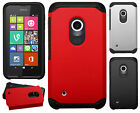 Nokia Lumia 530 Astronoot Hybrid Rubber Silicone Case Phone Cover + Screen Guard