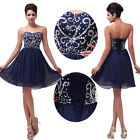 XMAS GIFT Vintage Formal Prom Ball Gown Cocktail Short Mini Party Evening Dress
