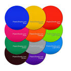 3MM COLOURED ACRYLIC DISCS, POLISHED PERSPEX, CUT TO SIZE 100MM - 900MM