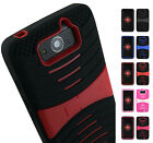 RUGGED RUBBER GRIP CASE WITH STAND FOR MOTOROLA DROID MAXX XT1080M ULTRA XT1080