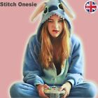 XMAS Animal Stitch Onesie Adults Costume Cosplay Kigurumi Pajamas Hoodies Suits