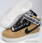 NIKE AIR FORCE 1 SP TISCI MID 65 14 TAN RICCARDO GIVENCHY RT lunar gold white