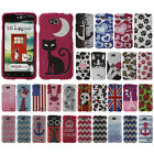 For LG Optimus L90 D405 D415 Ladybugs Crystal Bling Hard Case Cover Accessory