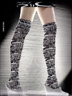 emilio cavallini hold ups/stay up, allover pattern, 50 DEN