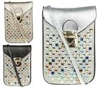 New Ladies Mobile Phone Case Gift Pouch Cross Body Satchel Purse Mobile Holder