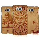 HEAD CASE DESIGNS WOOD ART CASE COVER FOR SAMSUNG GALAXY ALPHA G850