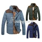 Fashion Men Spring Winter Thick Cotton Warm Down Coat Casual Jacket M-3XL New