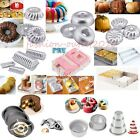 Various Raisin Bread Pizza Savarin Fluted Tube Cake Pan Tin Bakeware Baking Mold