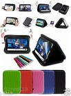 "Speaker Leather Case Cover+Gift For 8"" Gigaset QV830 Android Tablet GB5"