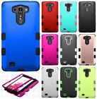 LG G Vista VS880 IMPACT TUFF HYBRID Protector Case Skin Phone Cover Accessory