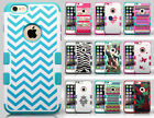 For Apple iPhone 6 Plus 5.5 TUFF MERGE HYBRID Case Skin Covers + Screen Guard