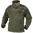 HELIKON INFANTRY ARMY DUTY FLEECE MENS HUNTING JACKET OLIVE POLISH WOODLAND CAMO