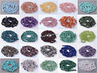 Long strand 3-5mm & 5-8mm freeform chips gemstone beads 34""