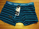 Bonds boys lo rise guy front striped trunks RRP $12.95 Size 12/14 - 14/16