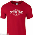 Amphibious Outfitters T-shirt - Scuba Traditions - Red - D0196R