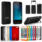 External Backup Battery Charger Charging Case Cover For iPhone 6 6+ Plus 4.7 5.5