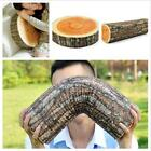 New Home Natural Camping Cylinder Woods Design Log Soft Plush Cushion Pillow LJ