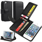 New Credit ID Card Holder Wallet Purse Flip Leather Case Cover w/Stand For Phone