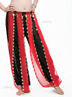 New Belly Dance Pants Tribal Bloomers Two colors & Golden coins Pants 4 colours