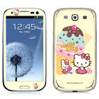 Skin Decal Sticker iPhone Galaxy Universal Phone Hello Kitty Ice Cream Dessert