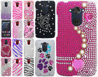 For Motorola Droid Turbo Crystal Diamond BLING Protector Hard Case Phone Cover