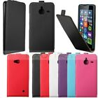 Magnetic Thin Flip Leather Hard Pouch Cover Case For Microsoft Lumia 640 /640XL