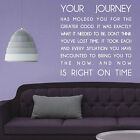 Your Journey Wall  Art Quotes / Wall Stickers / Wall Decals / Wall Mural