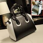 Design Women Faux Leather Tote Handbag Shoulder Crossbody Messenger Satchel Bags