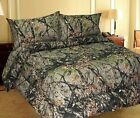 Woodland Forest Camo Bed Sheets Set 4. All Sizes Microfiber Bedding Pillow Case