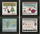 Curly Girl Designs by Mill Hill -Holiday Series 2013 - 4 Designs to Choose From