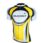 Men Cycling Bike Short Sleeve Top Shirt Clothing Bicycle Sportwear Jersey M-XXL