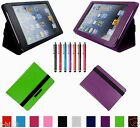 "Carry Leather Case Cover+Gift For 8"" Gigaset QV830 Android Tablet BW"