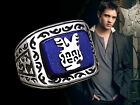 The Vampire Diaries Inspired Jeremy's Ring Lapis Lazuil Ring Solid 925 Silver