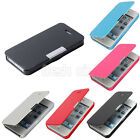 Fashion Magnetic Wallet PU Leather Flip Case Cover Folio Pouch For iPhone 5/5s
