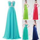 2015 Womens Sexy Long Bridesmaid Prom Party Ball Gown Formal Evening Maxi Dress