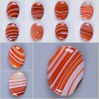 30mm Red Brazilian agate oval cab cabochon for jewelry making