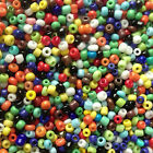 50g glass seed beads - Opaque, size 11/0 (approx 2mm) - choice of colours, craft <br/> BUY 4 GET 1 FREE, Mix &amp; Match (add 5 items to basket)