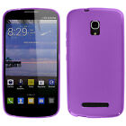 For Alcatel ONETOUCH Pop Star LTE TPU CANDY Gel Hard Flexi Skin Case Phone Cover