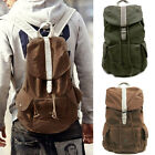 US New Fashion Leisure Retro Canvas Bagpack Backpack College School Bag Bookbags
