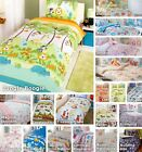 Children Kids Junior Single Double Quilt Duvet Covers & P/case Bedding Bed Sets