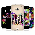 HEAD CASE FLOWERY STATEMENTS GEL BACK CASE COVER FOR HTC ONE