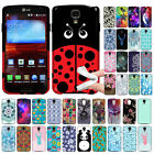 For LG Volt F90 LS740 LadyBug TPU SILICONE Soft Rubber Flexible Slim Case Cover