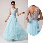 New Womens Long Formal Evening Ball Gown Pageant Bridesmaid Prom Party Dresses