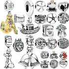 Muilti Silver Floating Charms European Beads for DIY Jewelry Bracelet Necklace