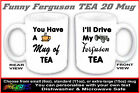 FERGUSON TEA TRACTOR MUG (not TED TEF 20) fun gift for TE 20 grey T20 Fergy fans