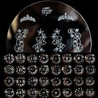Nail Art Stamp Stamping Image Template Plate W Series Pattern Mold Flower Heart