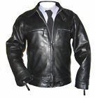 Luftwaffe leather FLYING JACKET black steerhide flight coat noble house STUNNING