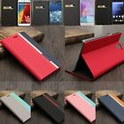 Mix Color Hybrid Flip Leather Wallet Card Slot Holder Case Cover Stand For Phone